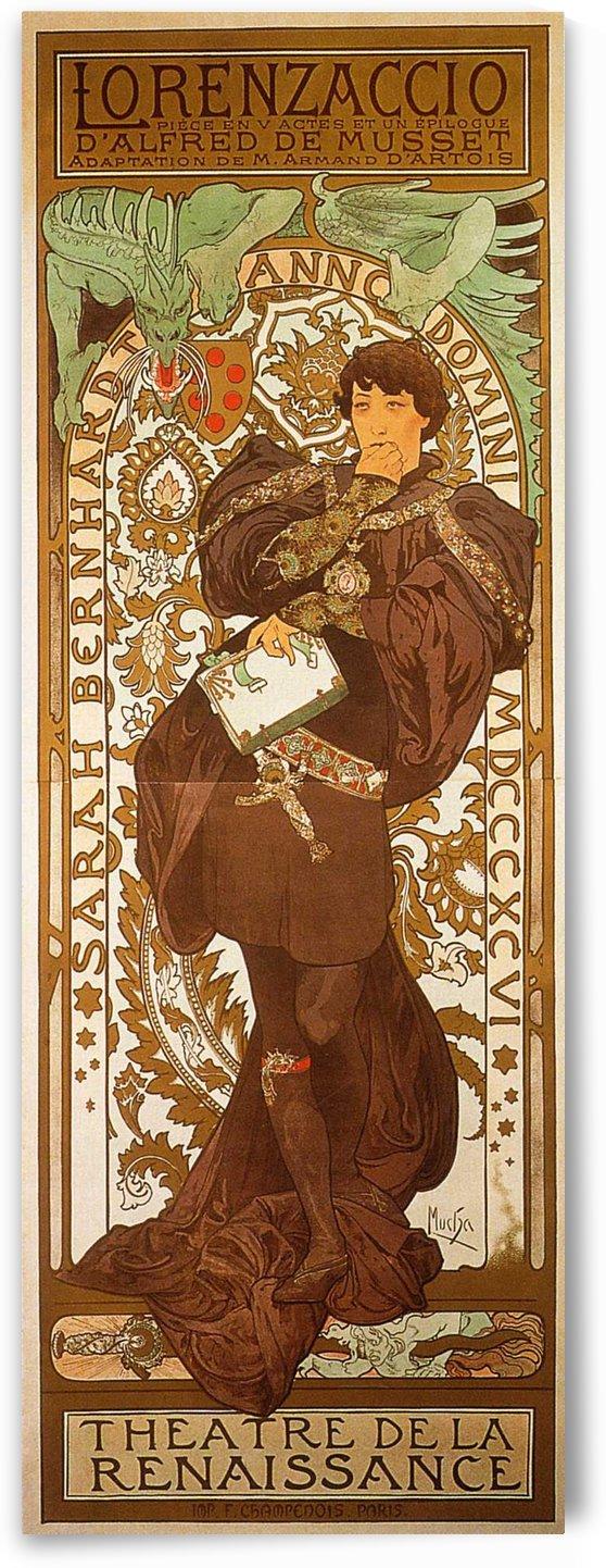 Lorenzaccio, 1896 by Alphonse Mucha
