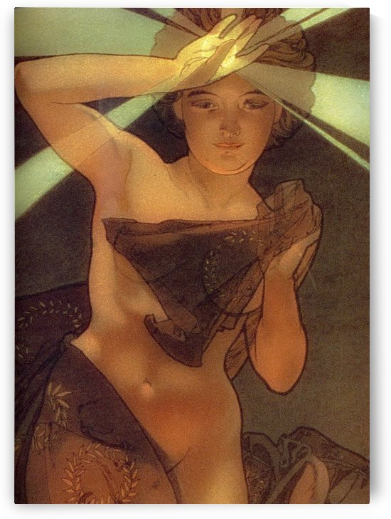 Morning Star by Alphonse Mucha