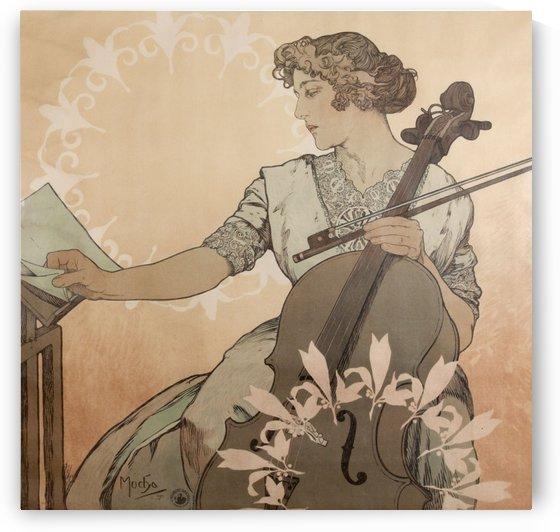 Zdenka Czerny by Alphonse Mucha