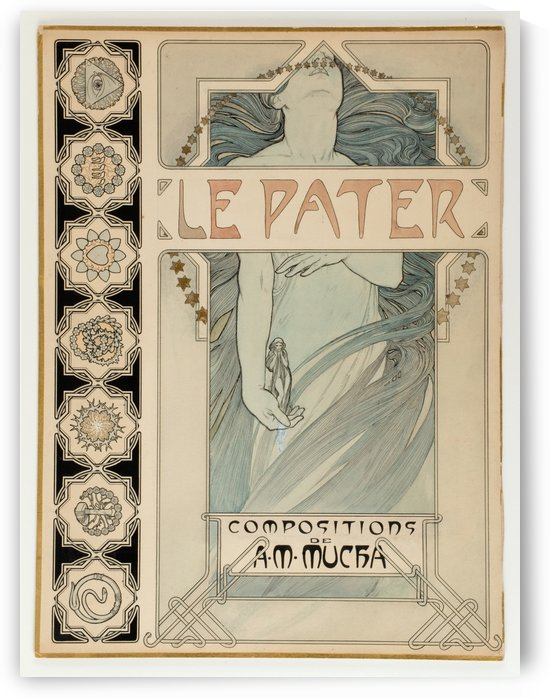 Le Pater by Alphonse Mucha