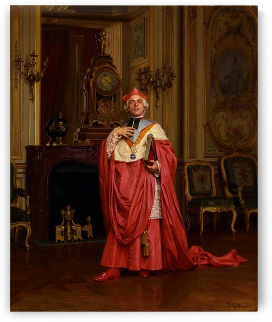 The Red Portfolio by Jehan Georges Vibert