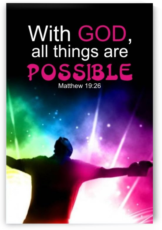 All things Possible by GIDEON OJO