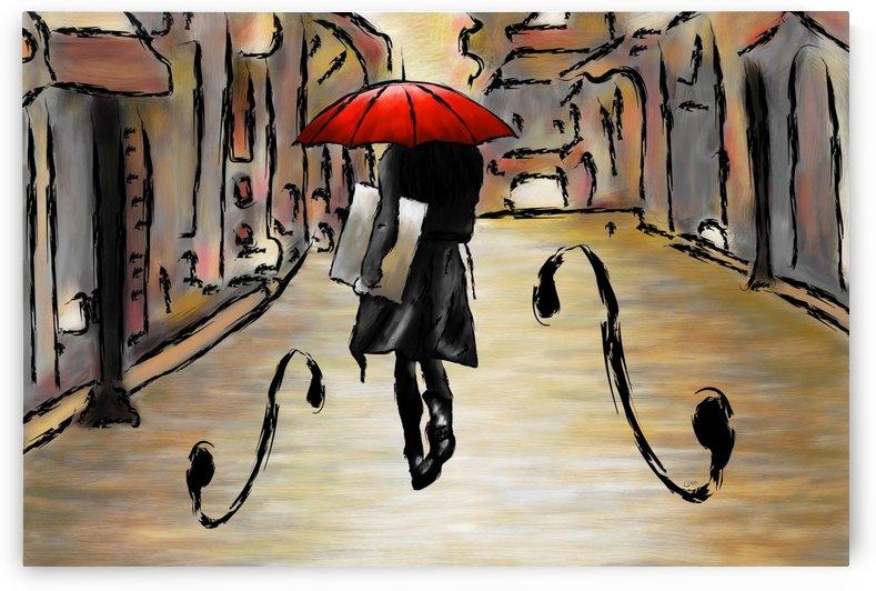 Hafanissia V1 - lady umbrella by Cersatti Art