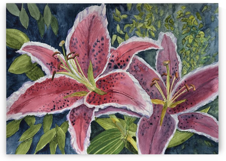 Tiger Lilies by Linda Brody