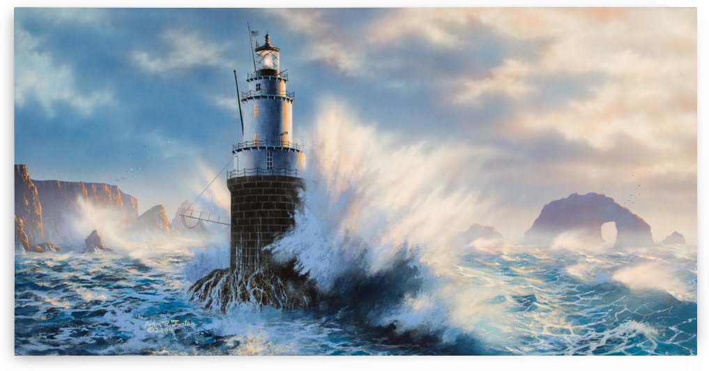 Mile Rocks Lighthouse by John Foster