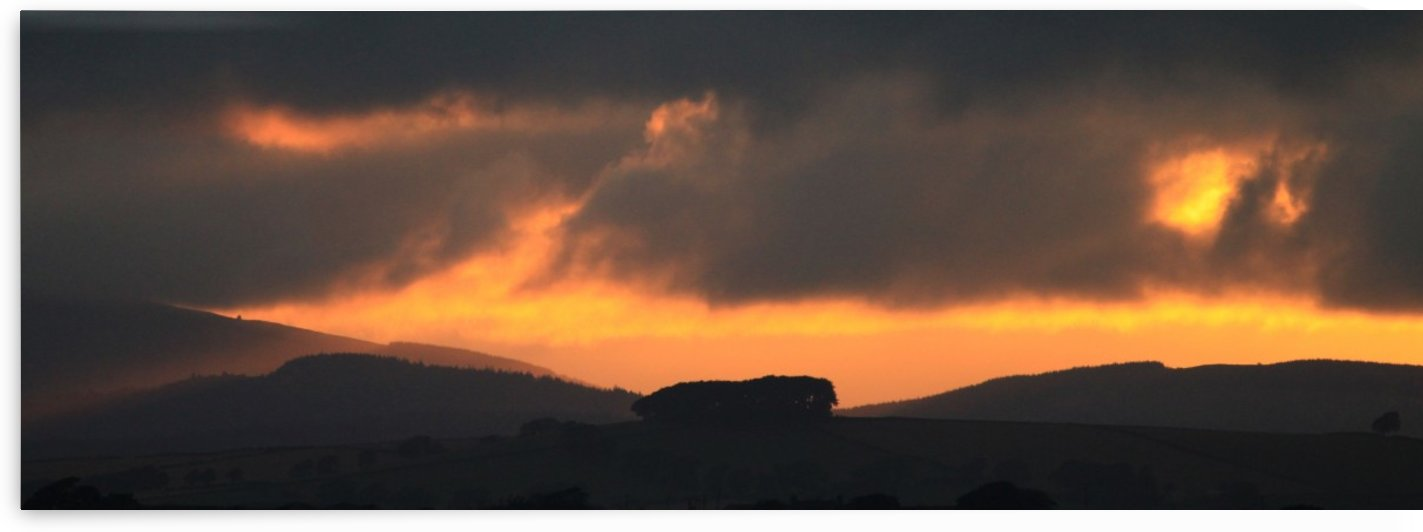Solway sunset by Andy Jamieson