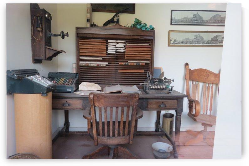 Office in Elk City, OK by Vicki Polin