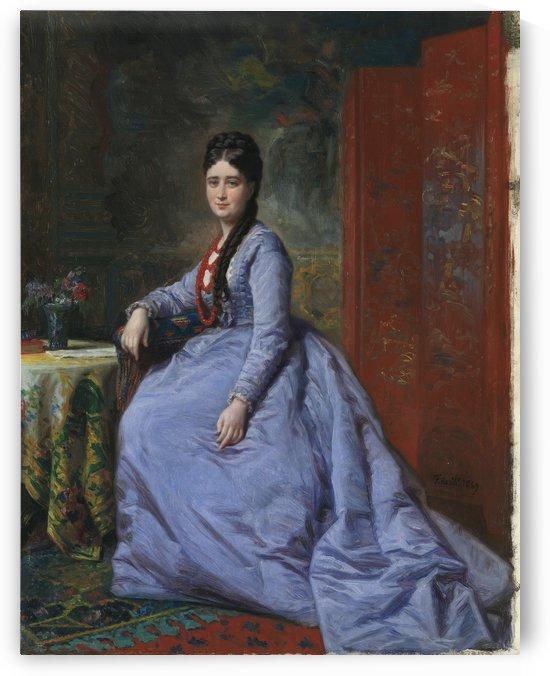Luisa Bassecourt by Ricardo de Madrazo y Garreta