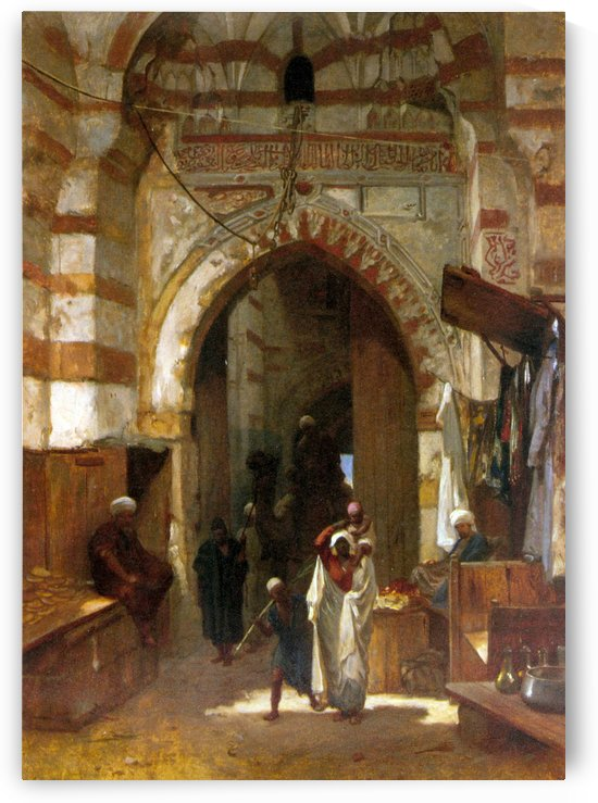 The Grand Bazaar by Frederick Goodall
