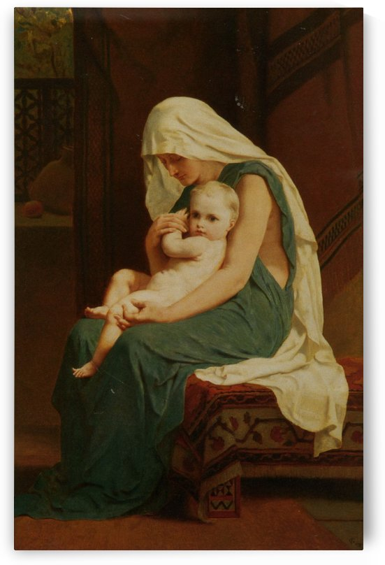 Mother and Child by Frederick Goodall
