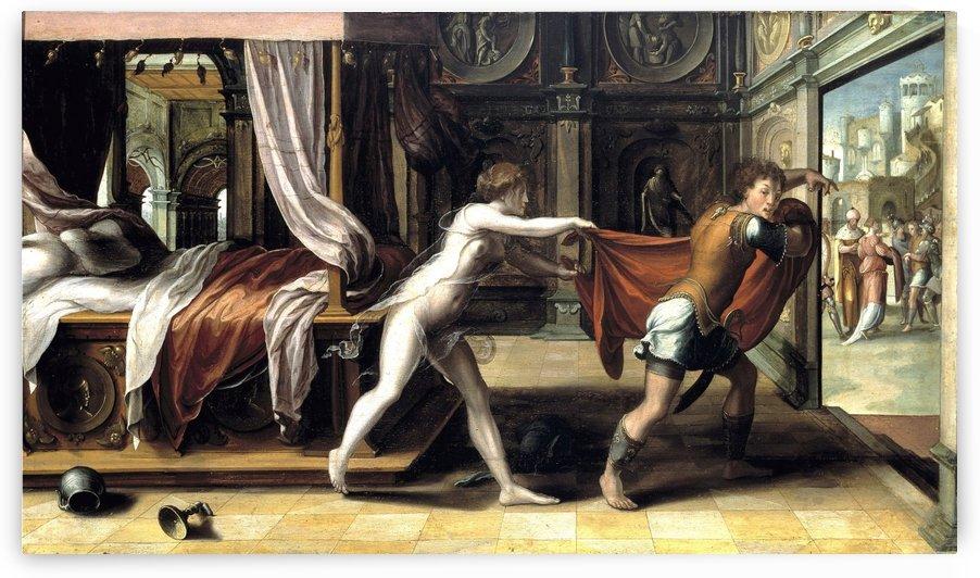 Potiphars Wife by Pieter Coecke van Aelst
