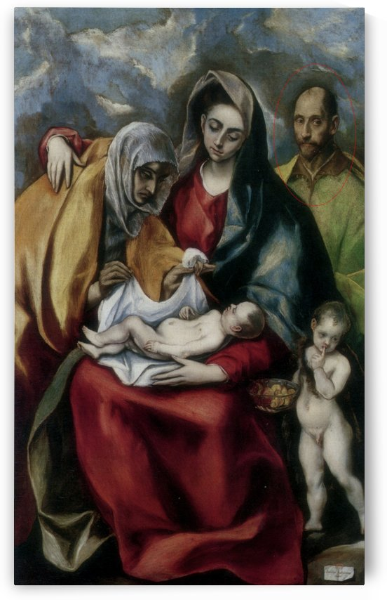 The Holy Family by Pieter Coecke van Aelst