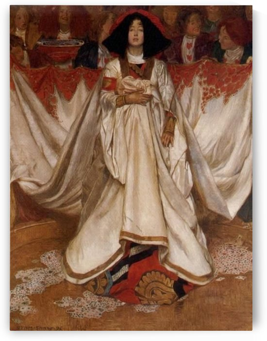 The Queen od Hearts by John Byam Liston Shaw