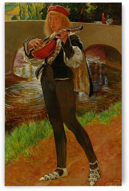 The Bard by John Byam Liston Shaw