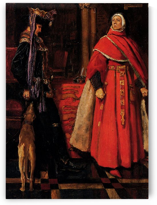 Royalty and church by John Byam Liston Shaw