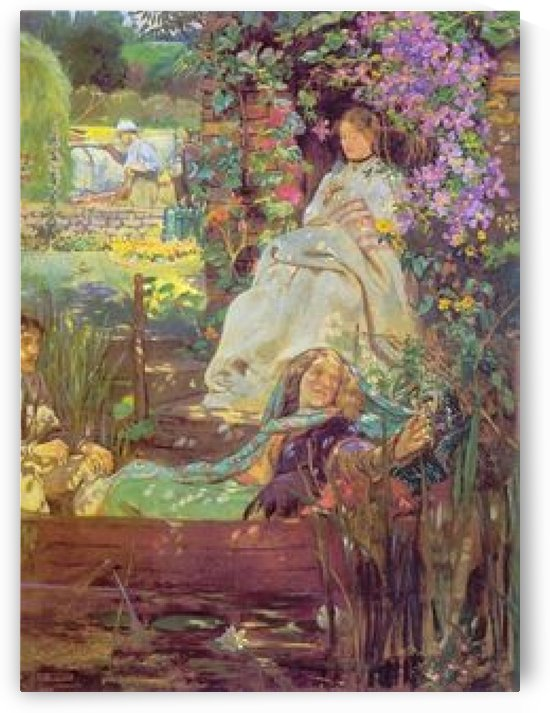 Trully the light is sweet by John Byam Liston Shaw