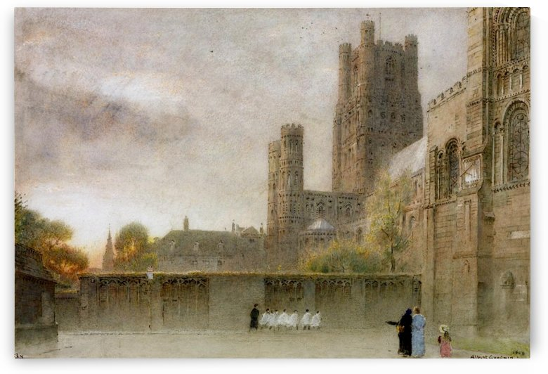 Ely Cathedral by Albert Goodwin
