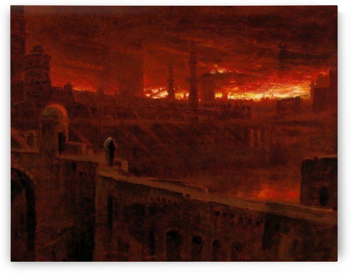Leaving the City of Destruction by Albert Goodwin