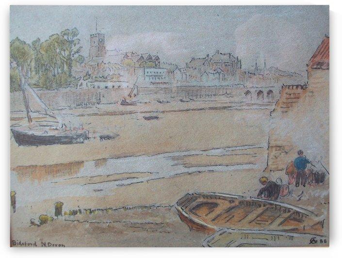 Bideford by Albert Goodwin