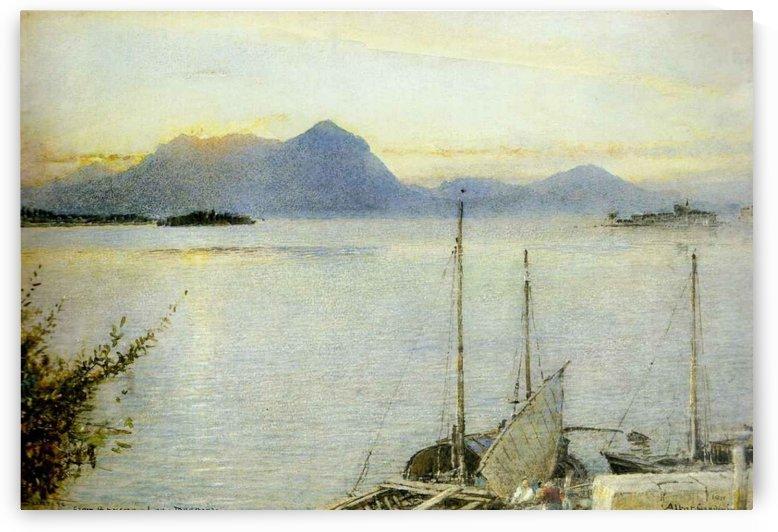 Lake Maggiore by Albert Goodwin