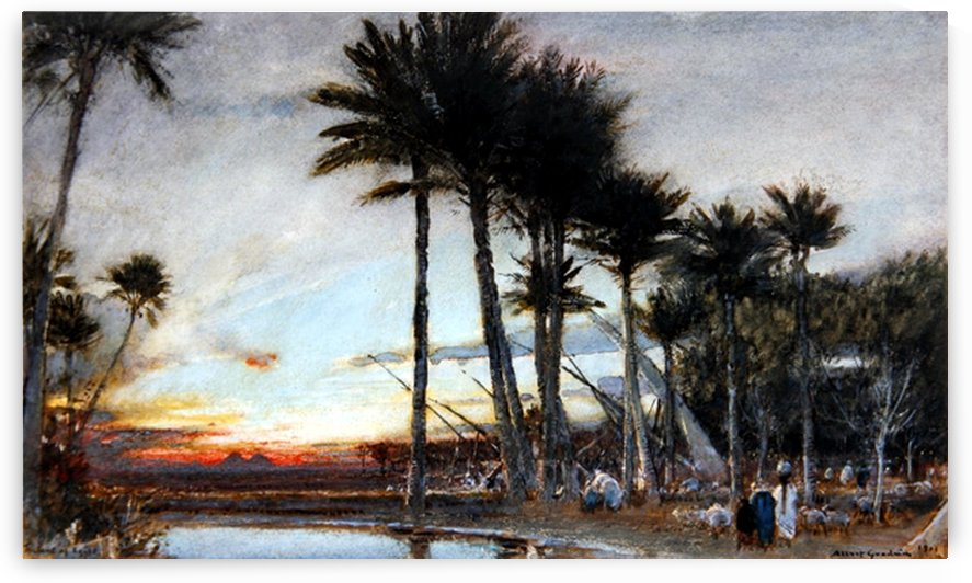 The Land of Egypt by Albert Goodwin