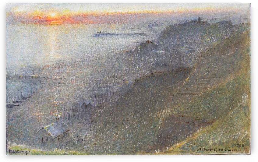 Hastings by Albert Goodwin