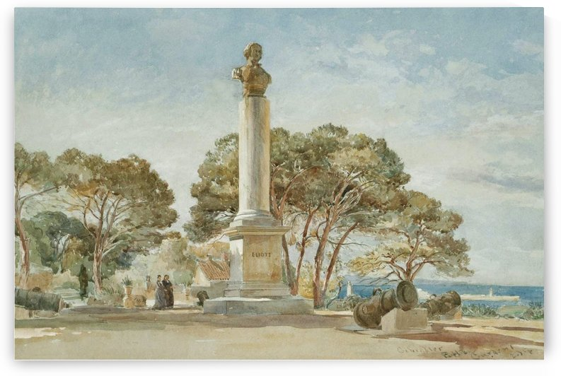 The Alameda Gardens by Edward Angelo Goodall