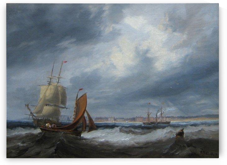 Shipping off Seaham by John Wilson Carmichael