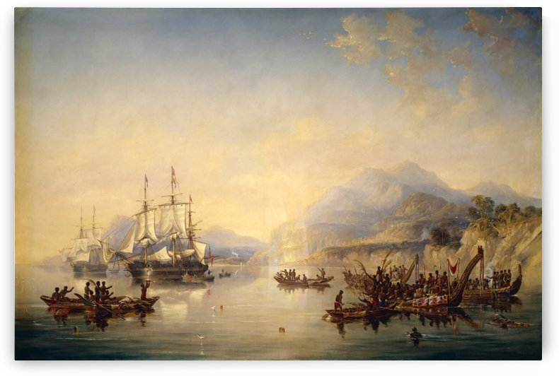 Erebus' and the 'Terror' in New Zealand by John Wilson Carmichael
