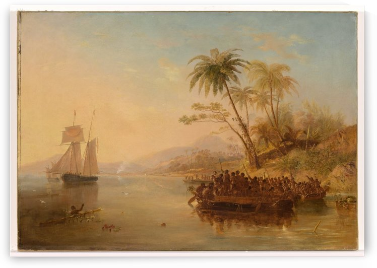 The Rescue Of William Doyly by John Wilson Carmichael
