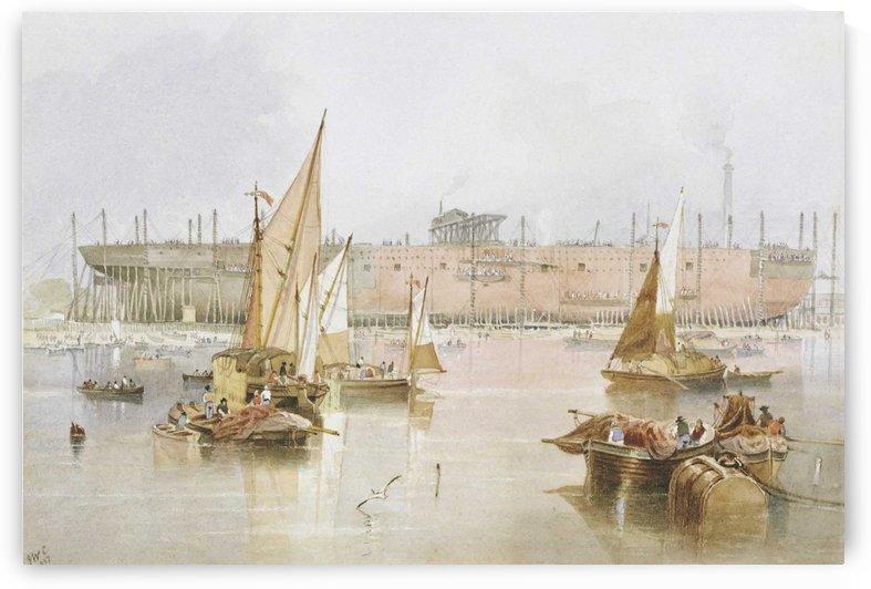 SS 'Great Eastern' by John Wilson Carmichael