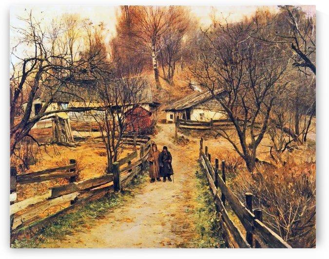Autumn, Towards the End of the Day by Sergei Konstantinovich Zaryanko