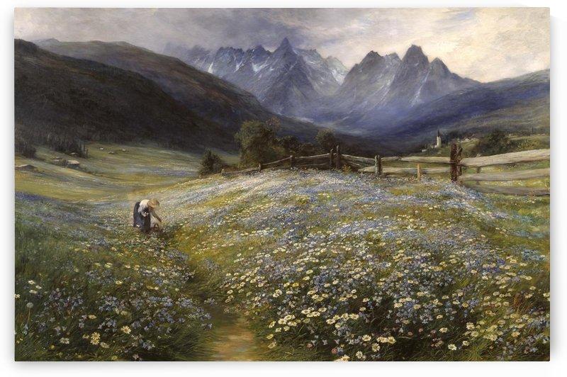 June in the Austrian Tyrol by John MacWhirter