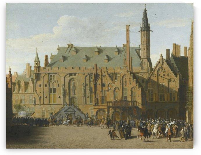 A gothic church by Pieter Jansz Saenredam