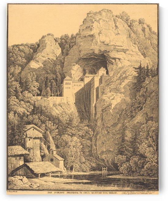 Trieste 1816 by Karl Friedrich Schinkel