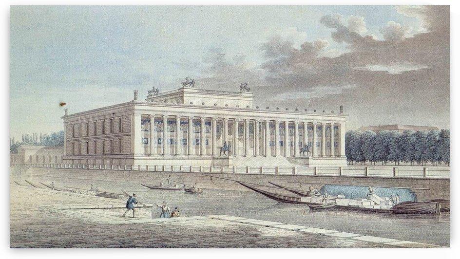 Alexander Thiele, 1830 by Karl Friedrich Schinkel