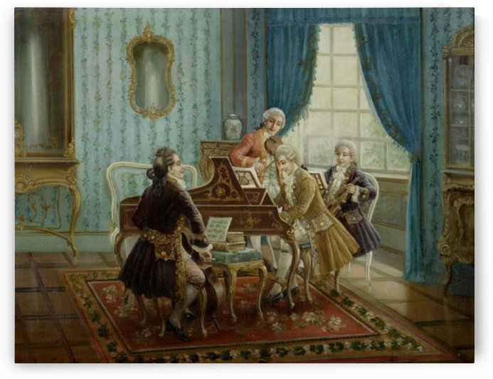 People learning to play the piano by Stephan Sedlacek