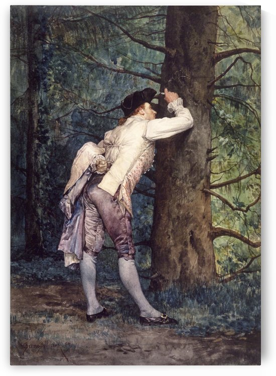 The Lover by Etienne-Prosper Berne-Bellecour