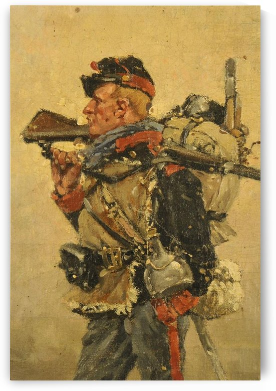 National Guard, Franco-Prussian War by Etienne-Prosper Berne-Bellecour