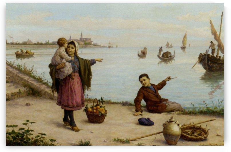 The Father's return by Antonio Ermolao Paoletti