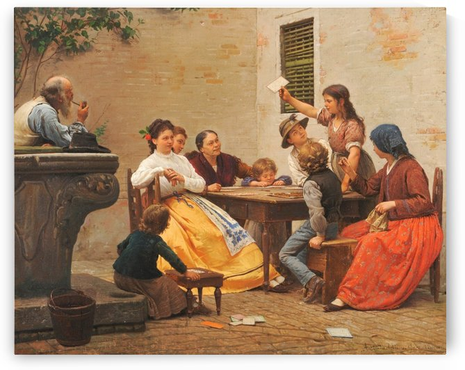 Picking the winning card by Antonio Ermolao Paoletti