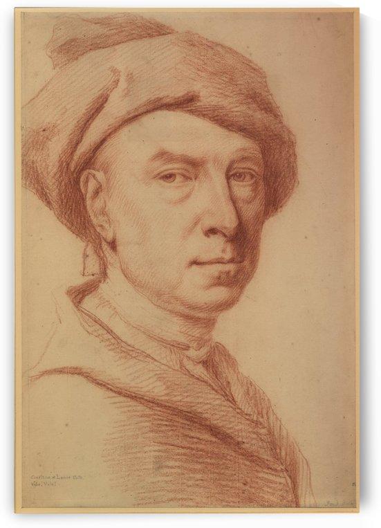 Senior Self-portrait 18th century by Jonathan Richardson