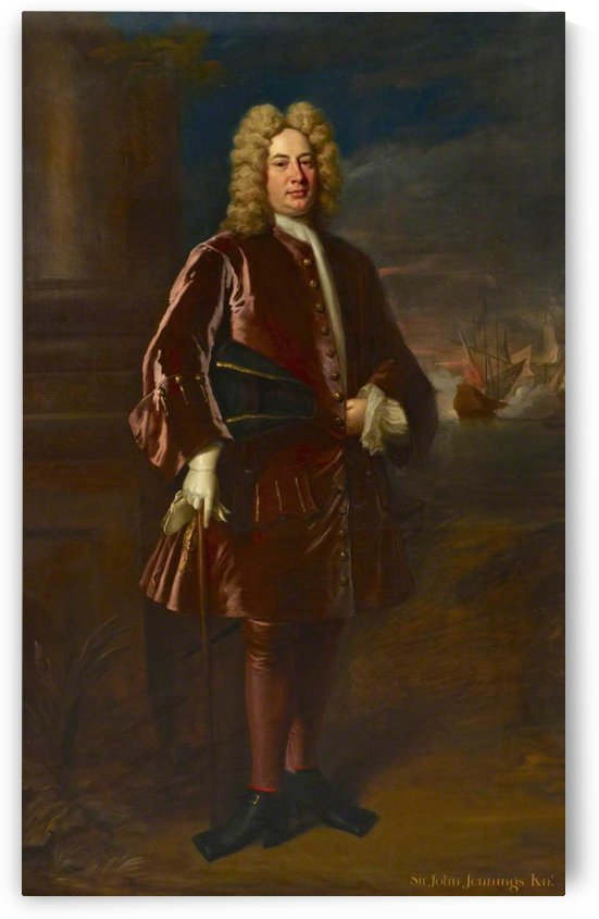 Admiral Sir John Jennings by Jonathan Richardson