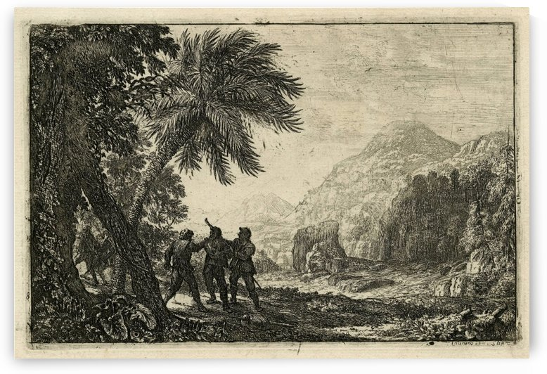 Scene de brigands by Claude Lorrain