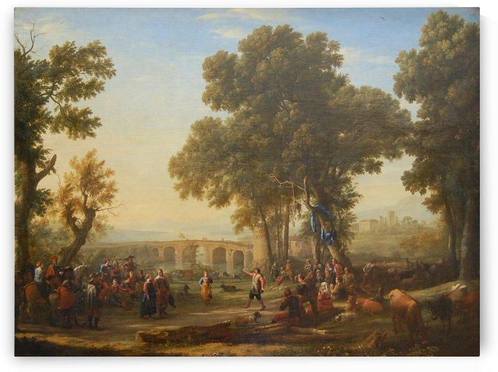 Fete villageoise by Claude Lorrain