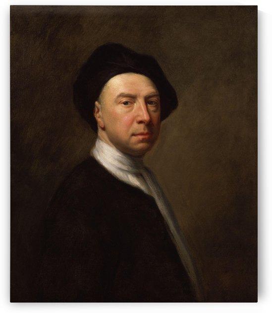 Portrait of a man by Jonathan Richardson