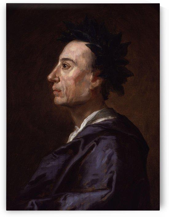 Alexander Pope by Jonathan Richardson by Jonathan Richardson