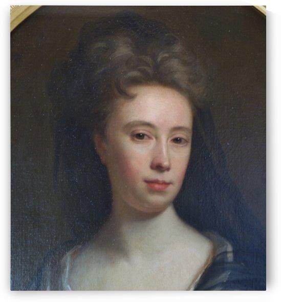 Portrait of Anne Keck by Jonathan Richardson