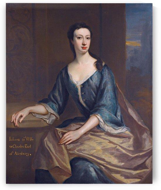 Juliana Boyle, Countess of Ailesbury by Jonathan Richardson