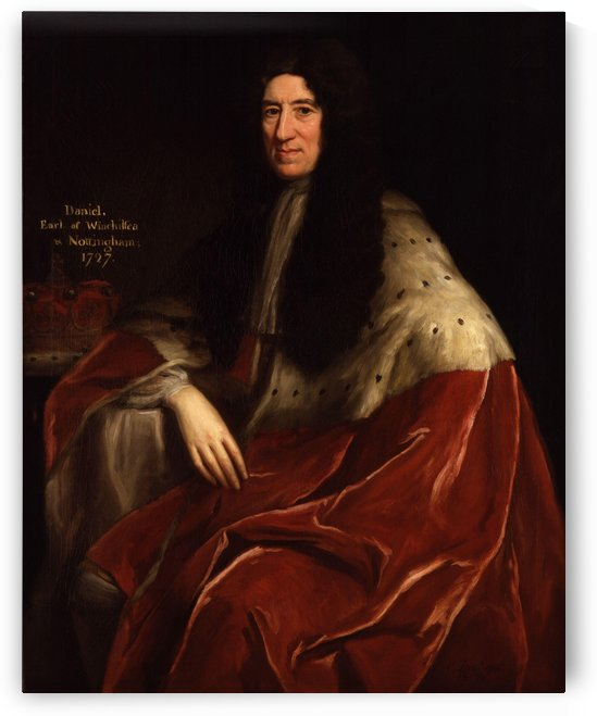Daniel Finch, 2nd Earl of Nottingham by Jonathan Richardson